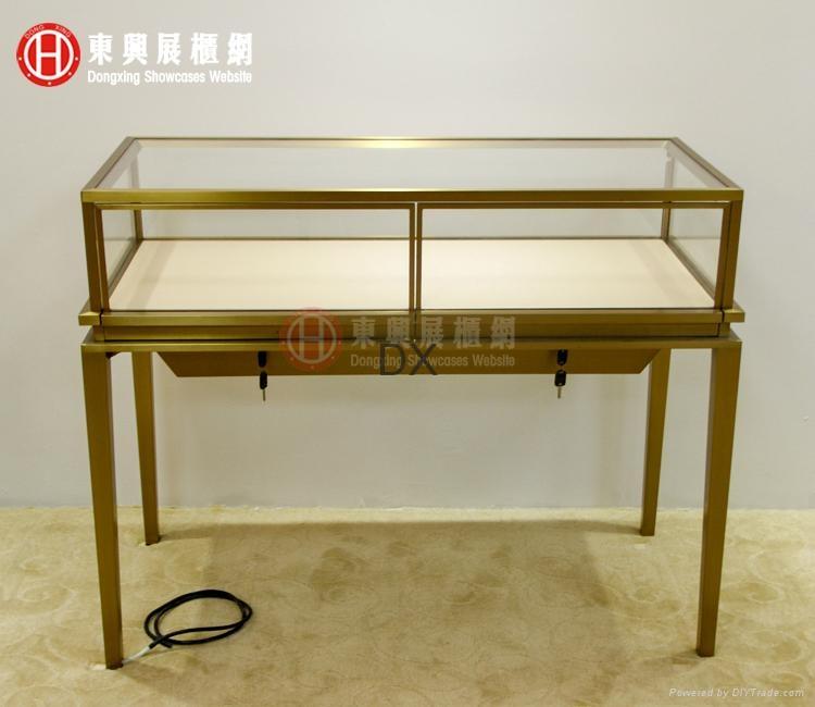 glass jewelry showcase, display counter,showcase 2