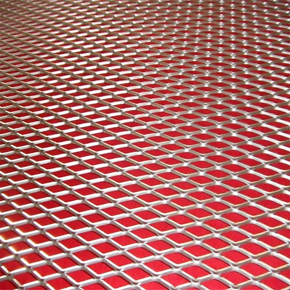 Hot Dippped Galvanised Expanded Metal Of Grating Mesh