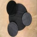 Black Wire Mesh Filter Mesh Disc
