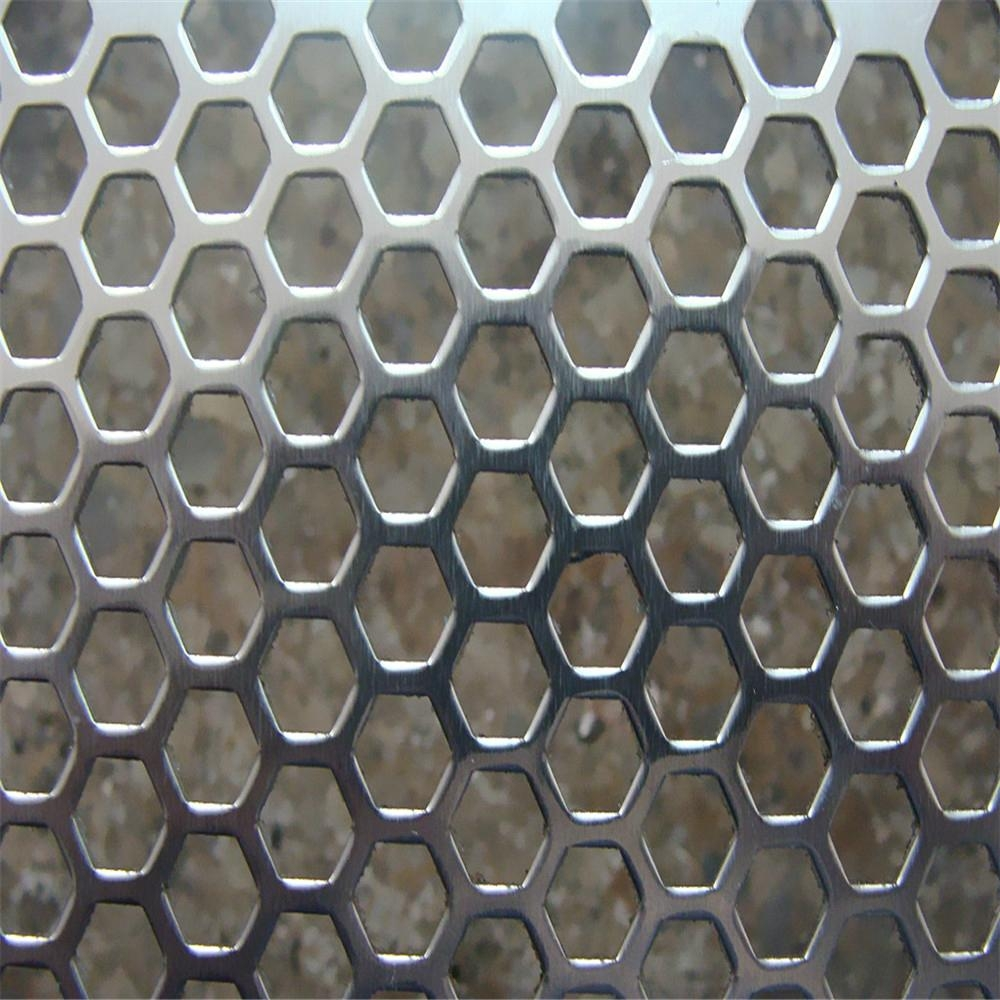 Hot Sell Factory Price Perforated Metal Mesh 5