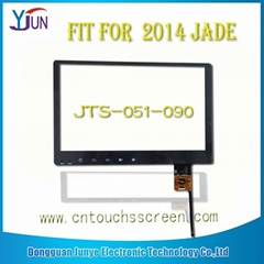 touch screen fit for 9 inch 2014 jade navigation capacitive