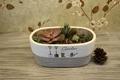 北歐風格工具花紋水泥花盆 1