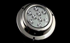 18 W Surface Mount Marine Led Spotlights For Boats , DC11V-14V
