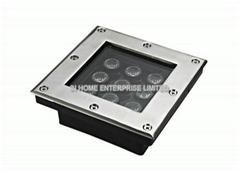 990LM 9 Watt RGB Rectangle Underground Lamp for Decorative
