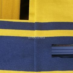 精梳色织彩条全棉汗布