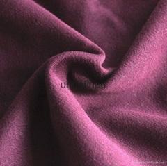 針織全滌單面絨布秋冬運動保暖服面料