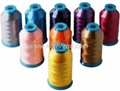 100% Polyester Embroidery Thread