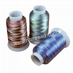 Multi-color (Variegated) embroidery thread