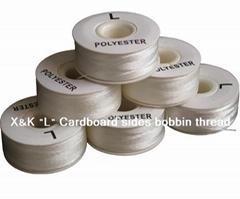 """L "" Paper sides, Bobbin thread"