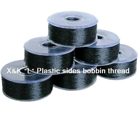 """""""L"""" Plastic sides bobbin thread 1"""