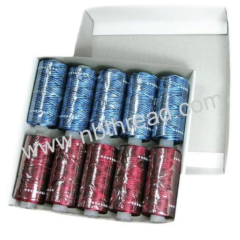 150D/2, 300D/2, 300D/2*3 Rayon 25grams each, 10tubes/box