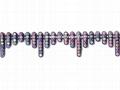 Stone chain, Rhinestone chain