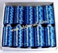 150D/2, 300D/2  Rayon embroidery Thread, 25g / tube 3