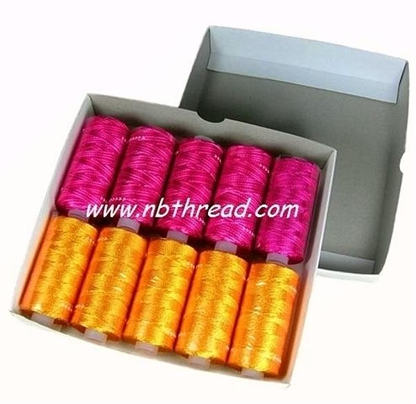 150D/2, 300D/2  Rayon embroidery Thread, 25g / tube 1