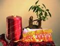 Dyed viscose rayon yarn  4