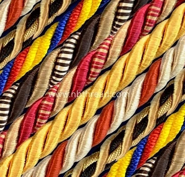 Dyed viscose rayon yarn  7