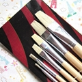 New 12 Artist Paint Brush Set