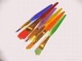 6 Colors Tip Nylon Child Paint Brushes