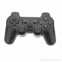 Classic black wireless bluetooth PS3 controller