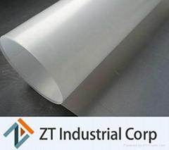 white HDPE geomembrane