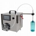 桌上型蠕动帮浦式液体充填机