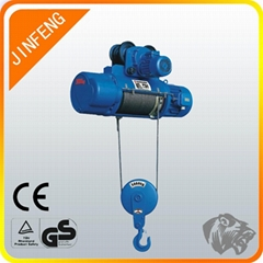 outdoor 1 ton eclectric lifting machine electric wire rope hoist