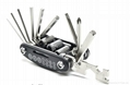 2016 New Design 15 in 1 Bicycle Repair Tool Multi Tool