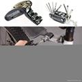 2016 New Design 15 in 1 Bicycle Repair Tool Multi Tool