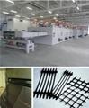 Geogrid production line machine