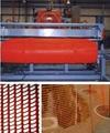 Warning net production line machine