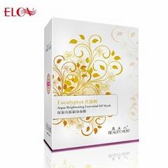 Eucalyptus aqua brightening essential oil mask