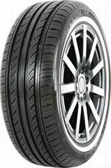 White side wall PCR tire