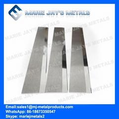 Cemented tungsten carbide staple fibre polyester blade cutter