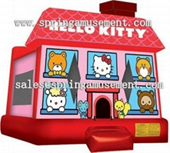 Inflatable hello kitty b
