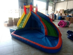 Hot sale inflatable water slide for sale
