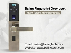 high quality digital fingerprint keypad door lock