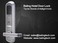 biometric readers magnetic card door