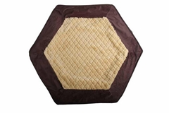 Hexagon pet bed for dogs