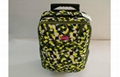 Customized Camouflage Small Hand Luggage Suitcases with Double Roller Design 1