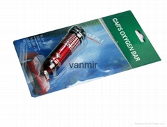 Auto air purifier oxygen bar Ionizer Car interior decoration car air freshener(R