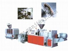 PVC Pellets Granulating Extrusion Line SJ90