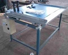 PP Hollow Sheet Corner Welding Machine