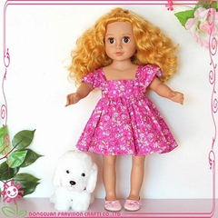 Hot fashion lovely girl baby toy doll