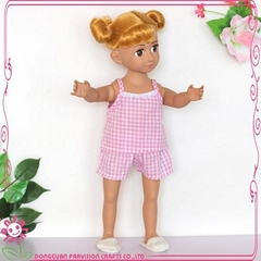 18 inch Chineses mini toy plastic collectible gift doll