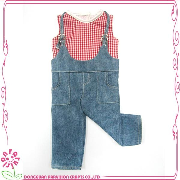 OEM welcome 18 inch doll clothes,matching girl doll clothes 1