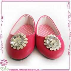 18 inch Simple girl doll shoes