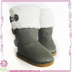 China factory 2015 Hot design boots doll shoes for girls
