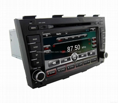 "7"" Digital Panel Android System Dual Core Two Din Car DVD Player For Audi A4 Wit"