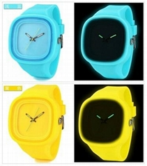 Wholesale Jelly Silicone Watch