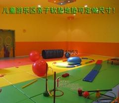 早教中心儿童爬行垫加厚